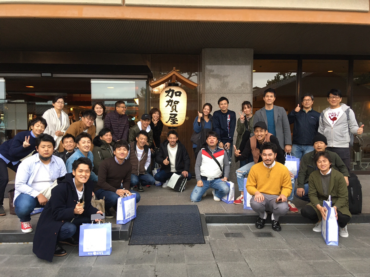営業部研修旅行㏌金沢