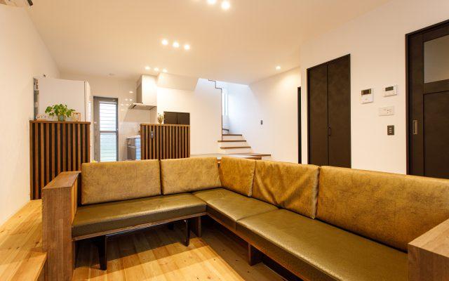 オリジナルソファのあるお家